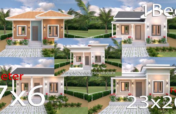 5 Best Single Plans 7×6 Meters with Floor Plan